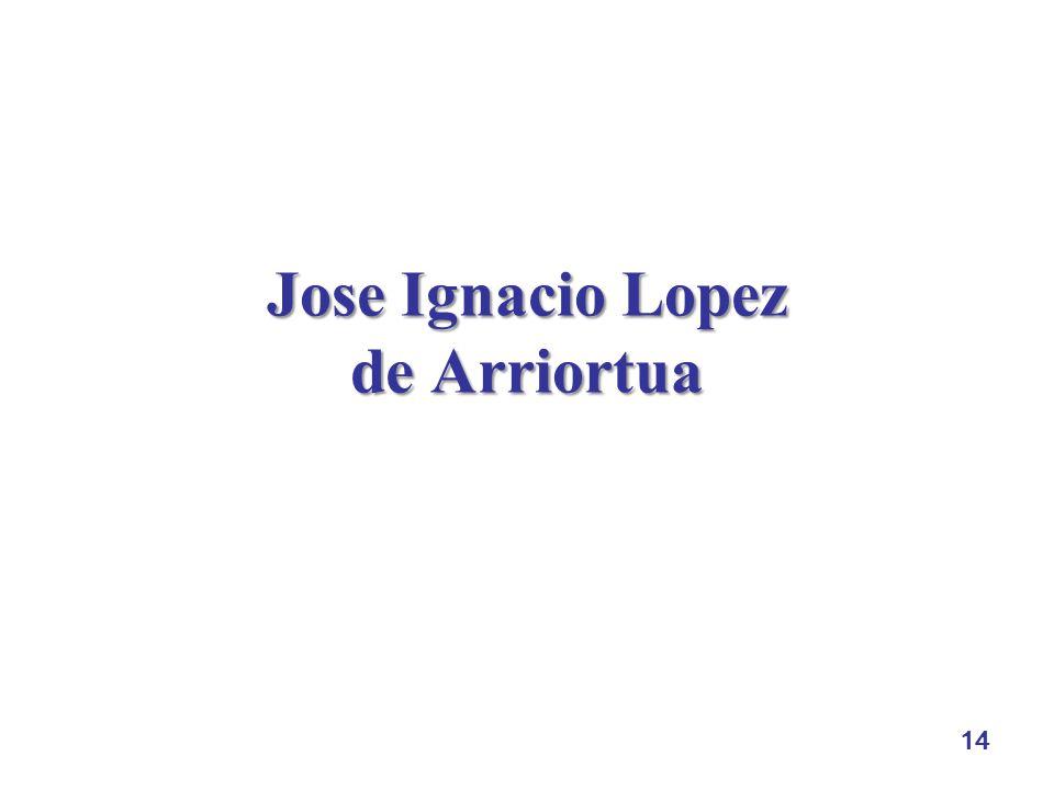 14 Jose Ignacio Lopez de Arriortua