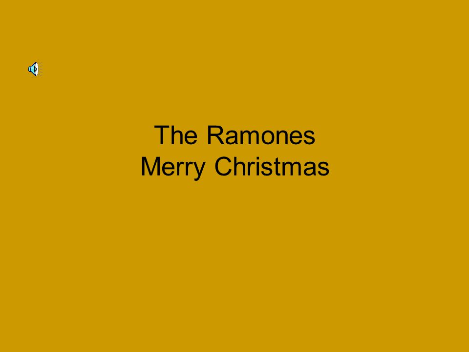 The Ramones Merry Christmas