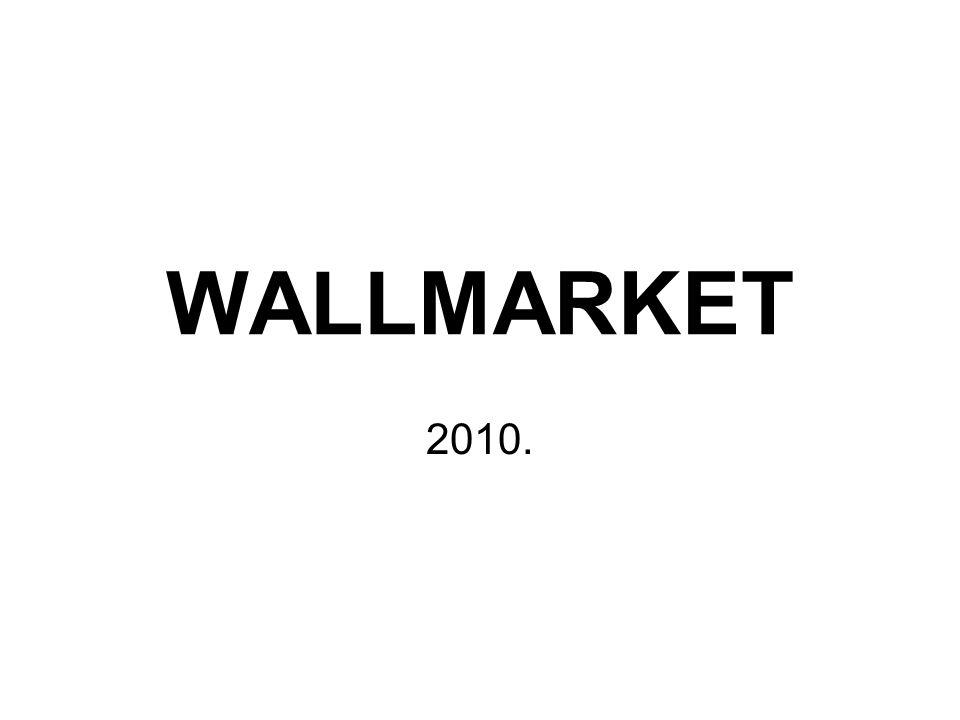 WALLMARKET 2010.