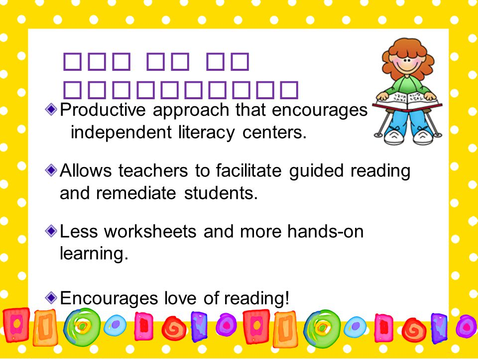 Introducing other Components Once you have reached your stamina goal for Read to Self, add another component.