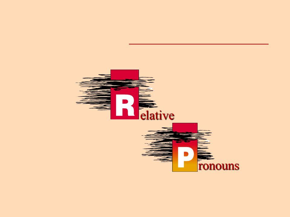 ronouns elative