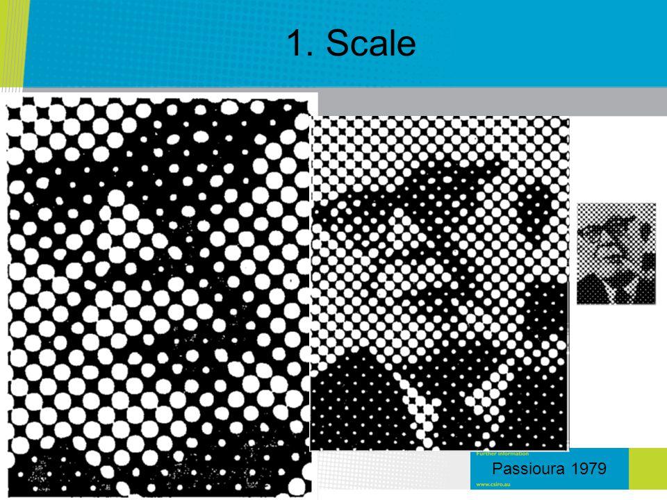 1. Scale Passioura 1979