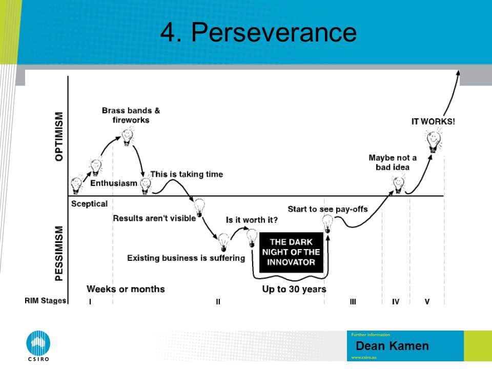 4. Perseverance Dean Kamen