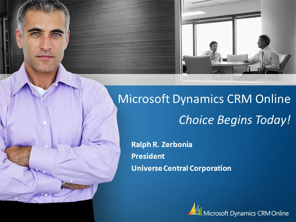 What is Microsoft Dynamics CRM Online.
