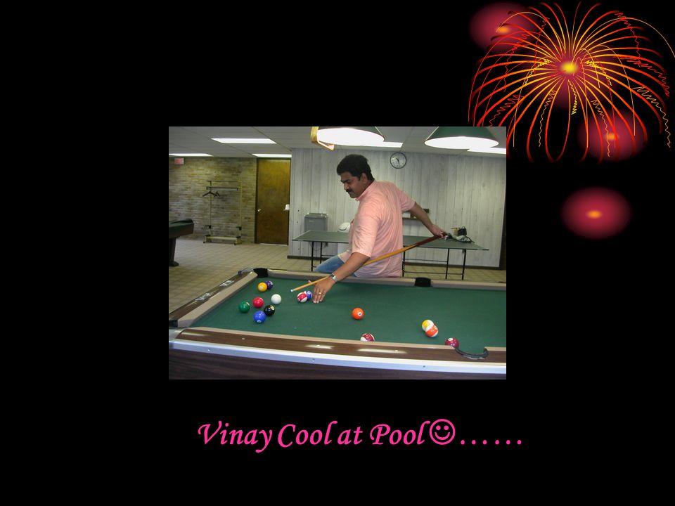 Vinay Cool at Pool ……
