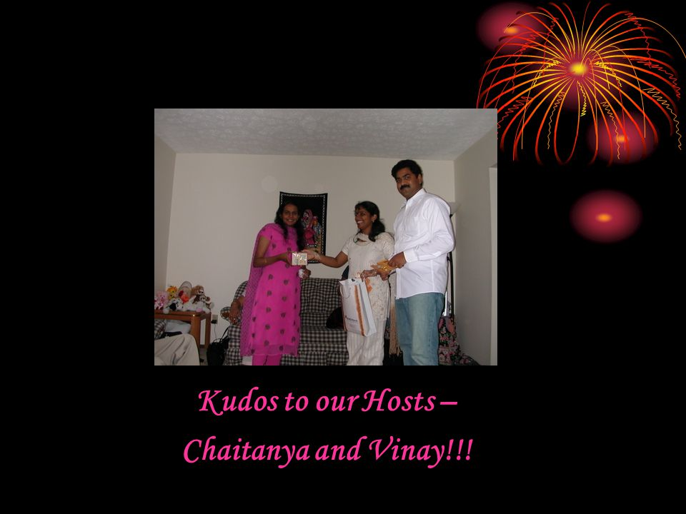 Kudos to our Hosts – Chaitanya and Vinay!!!