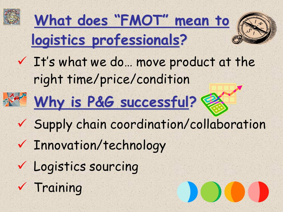 What does FMOT mean to logistics professionals.What does FMOT mean to logistics professionals.