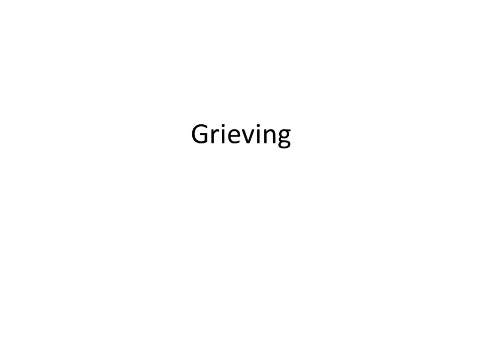 LOSS Death of a loved one Death of a pet Loss of a job Loss of a role Loss of a home Loss of friends Loss of being needed Loss of health Loss of independence