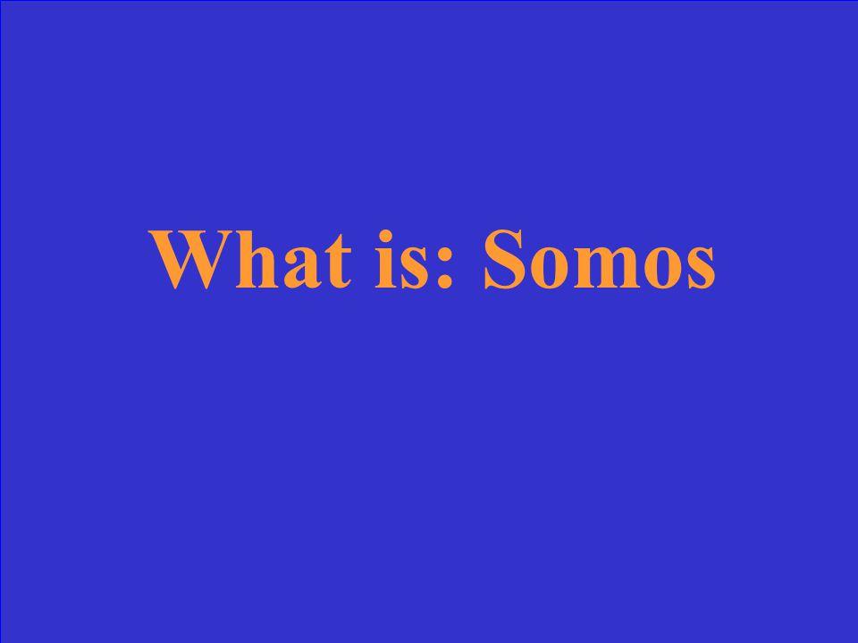 Nosotros____de Somers.