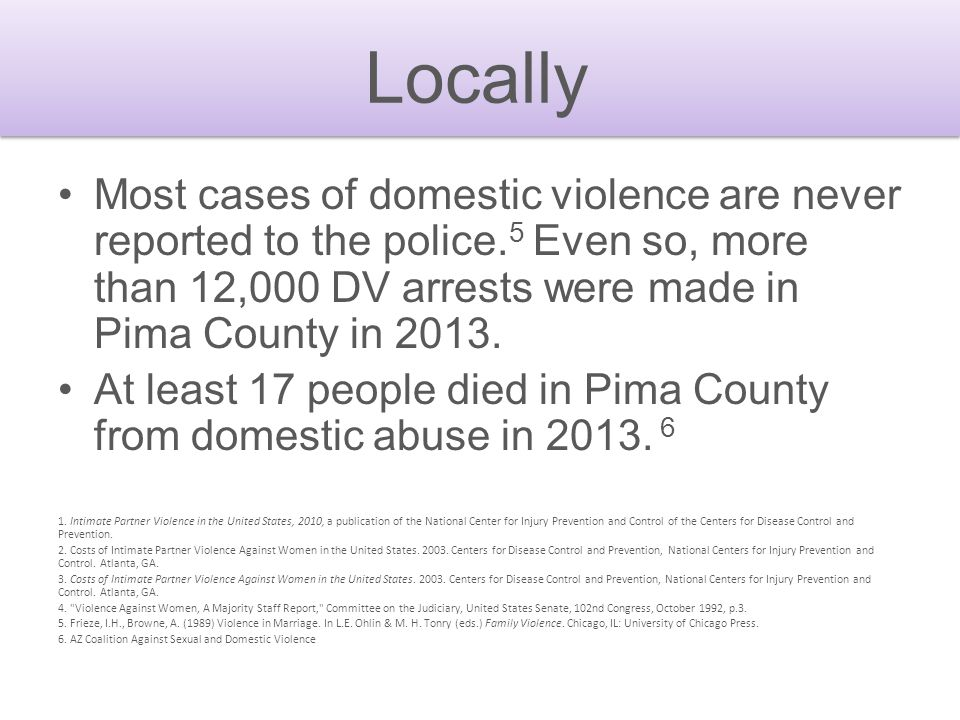 One in every four women and nearly one in seven men in the U.S. have experienced severe physical violence by an intimate partner at some point in thei