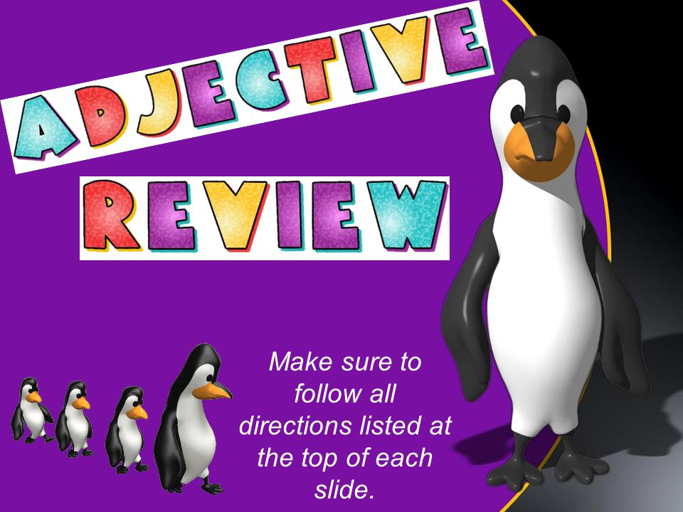 Write each sentence.Then underline the adjectives and circle the articles.
