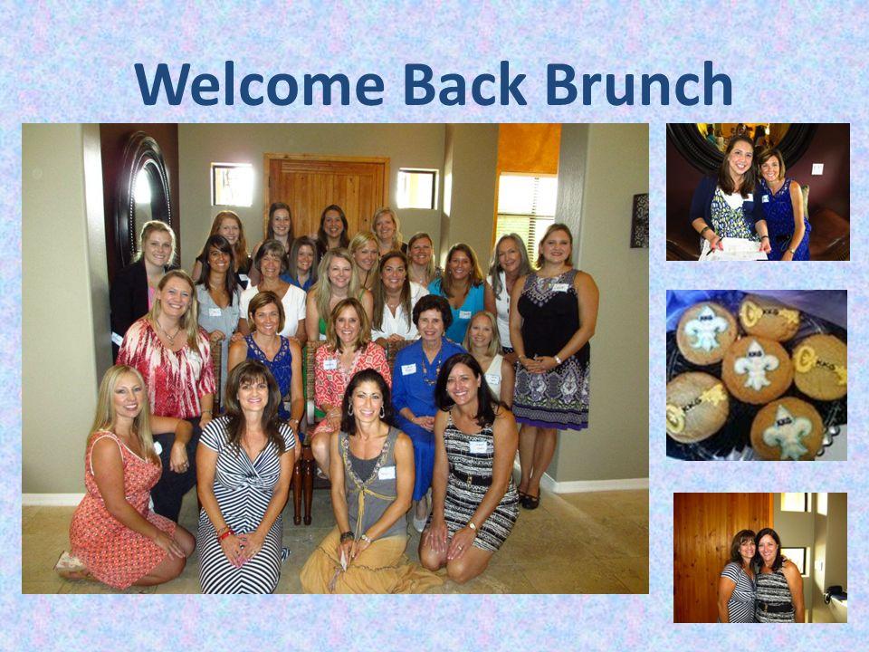 Welcome Back Brunch