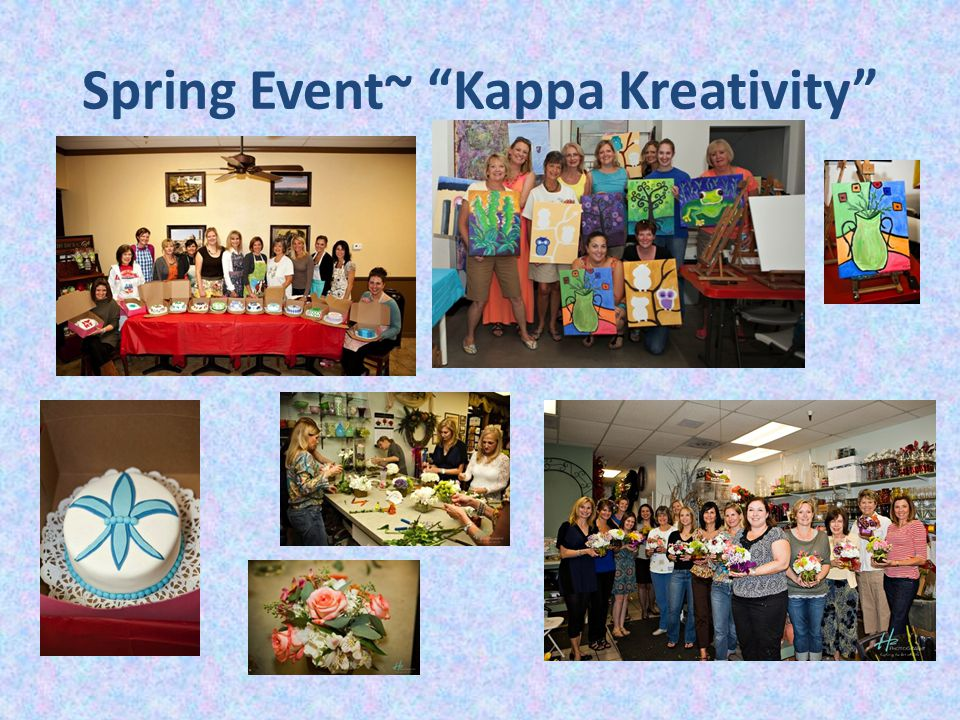 Spring Event~ Kappa Kreativity