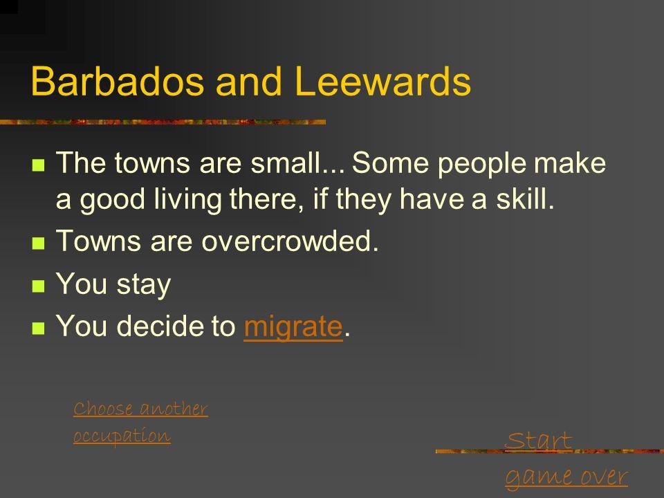 Start game over Grenada: town.