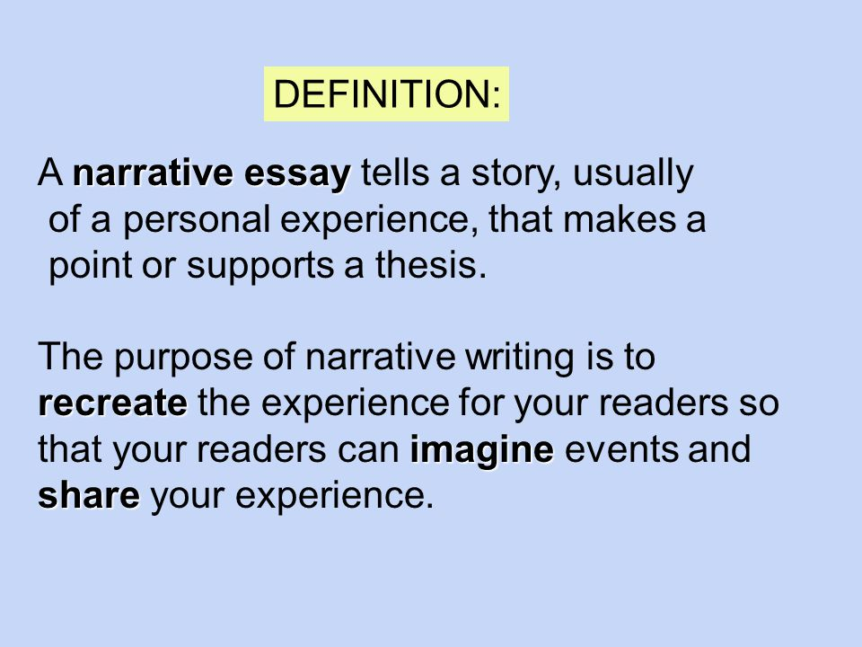 writing the narrative essay narrative essay a narrative essay  2 narrative