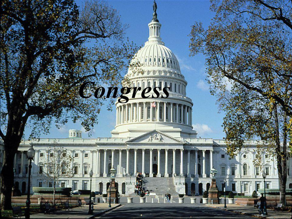 The Congressional Process Legislation: Bill: A proposed law.