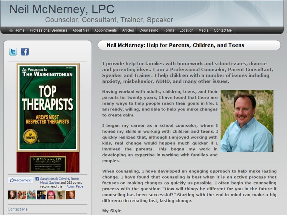 Homework A Parent's Guide To Helping Out Without Freaking Out Neil McNerney, LPC www.neilmcnerney.com