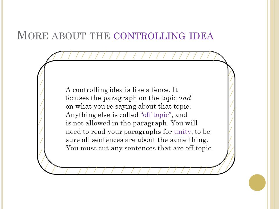 T HE FINAL SENTENCE ( S ) Your paragraph will end with some kind of a concluding sentence, or it might have a concluding sentence and a transition to the next paragraph.