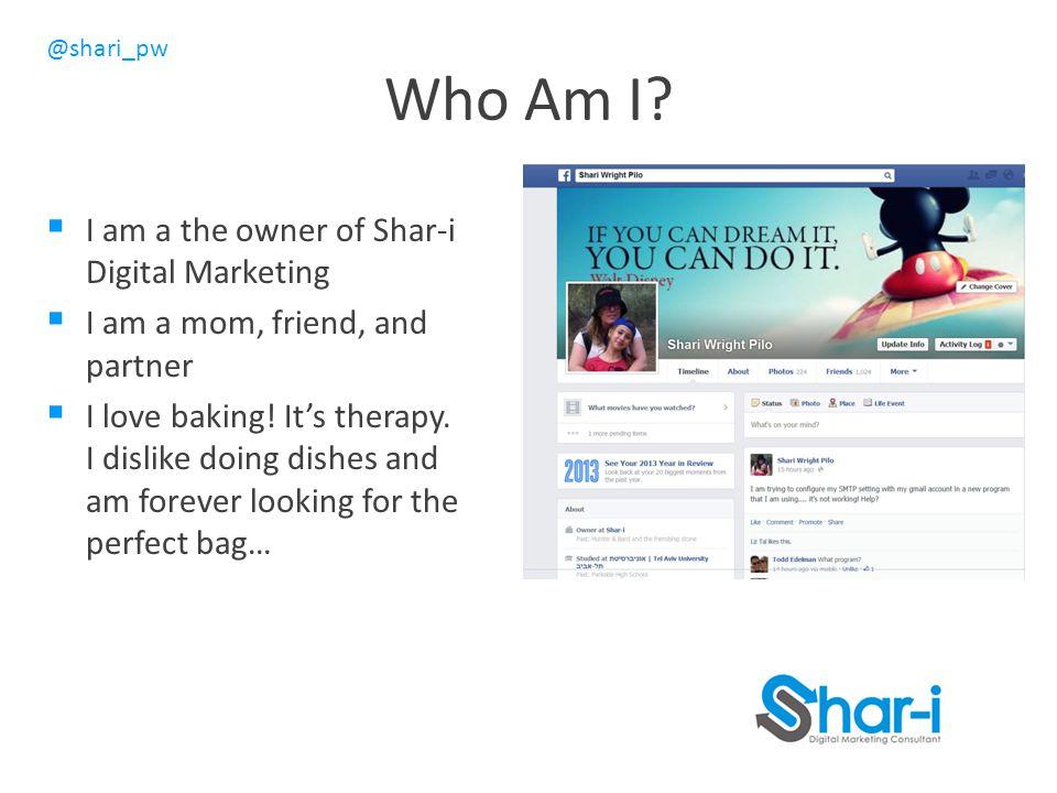@shari_pw Who Am I.