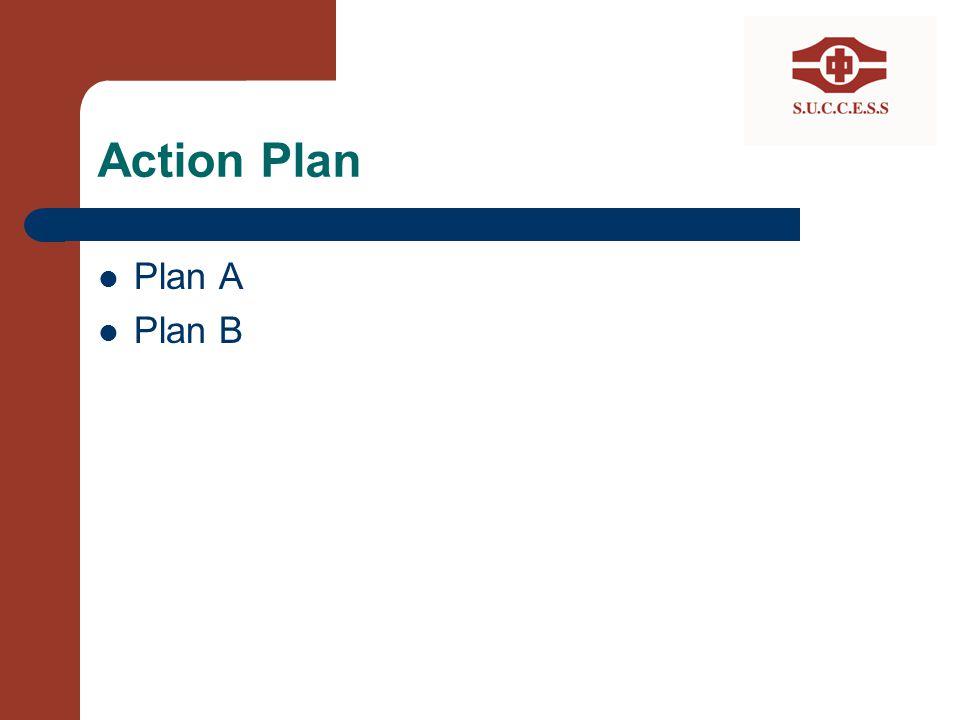 Action Plan Plan A Plan B