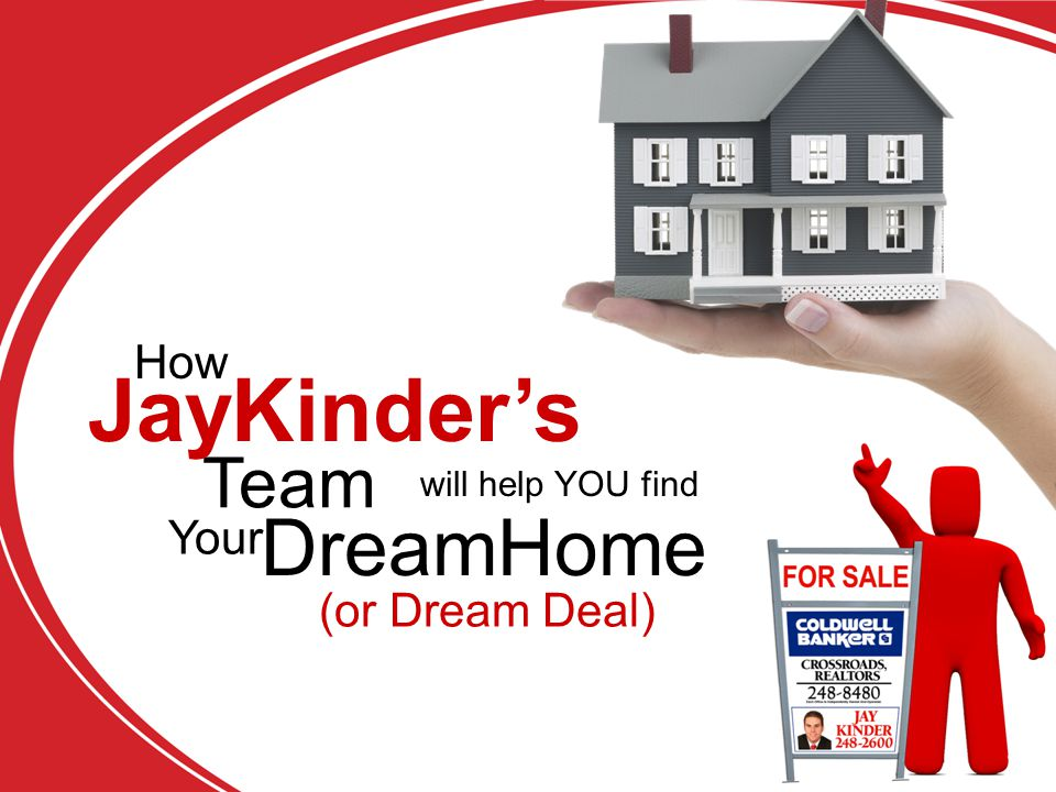 will help YOU find Team DreamHome Your (or Dream Deal) JayKinder's How