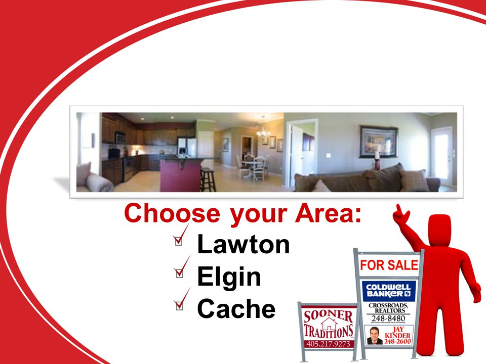 Choose your Area: Lawton Elgin Cache