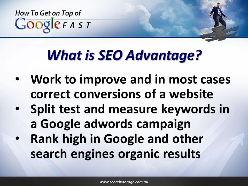 Step 1: Buying Keywords Most people & SEO companies choose BAD keywords.