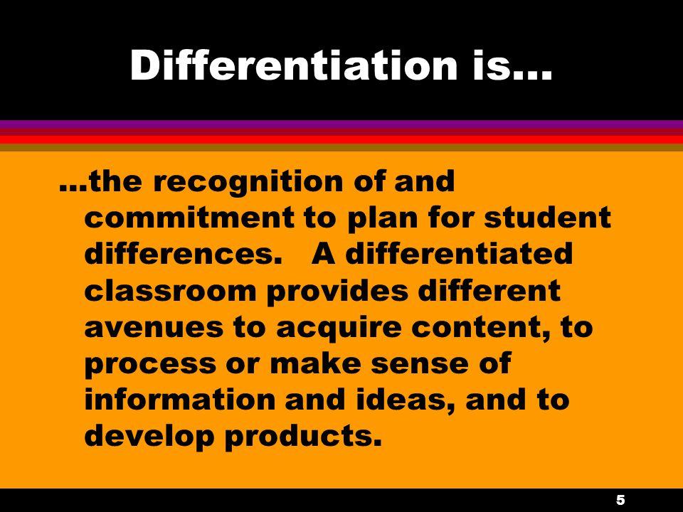 4 Addressing Diverse Learner Needs l 1.
