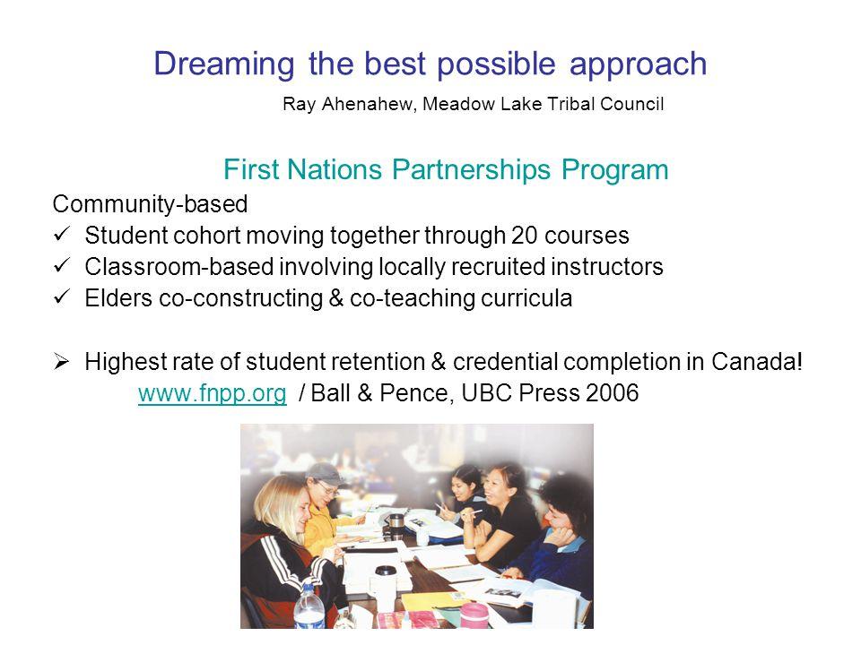 Supporting Indigenous Children's Programs: Community-University Partnerships, UBC Press