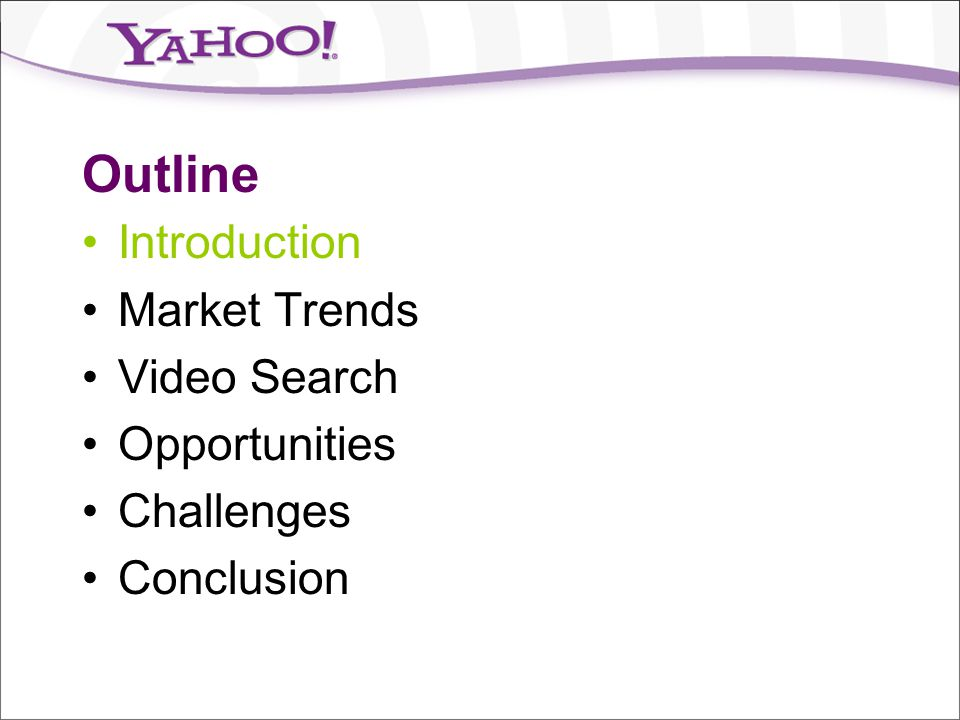Introduction Key questions discussed in this talk: Why is video search important.