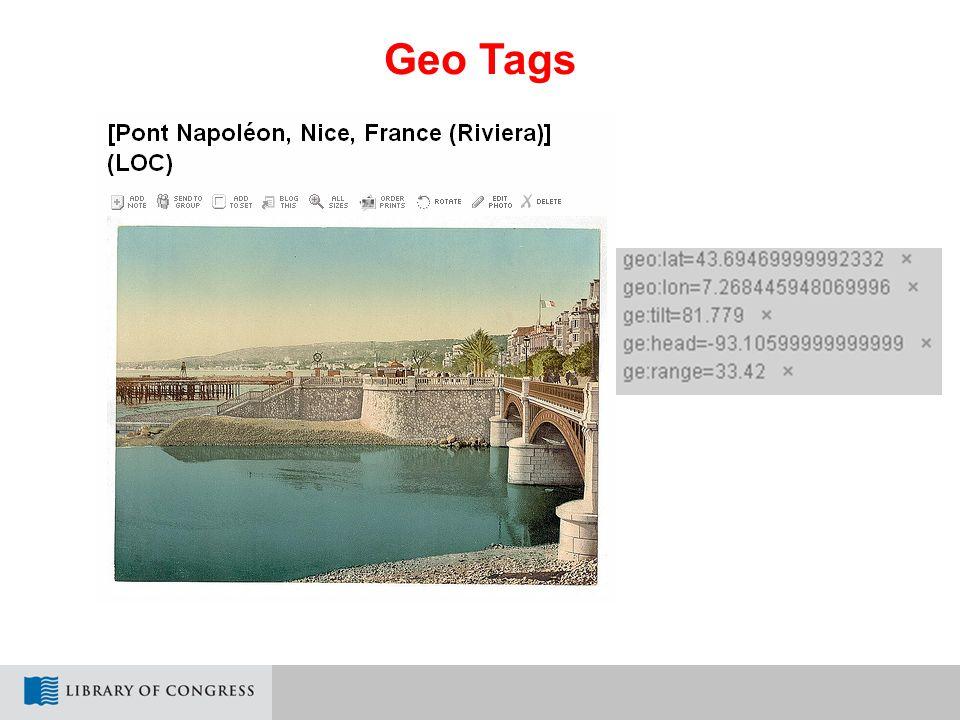 Geo Tags
