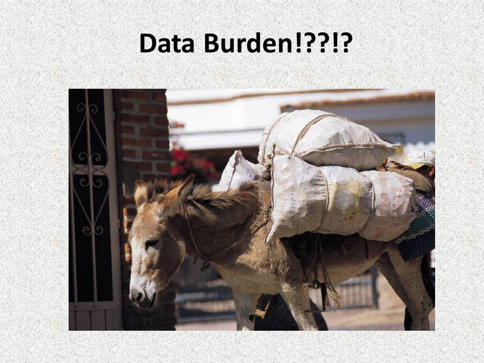 Data Burden! !
