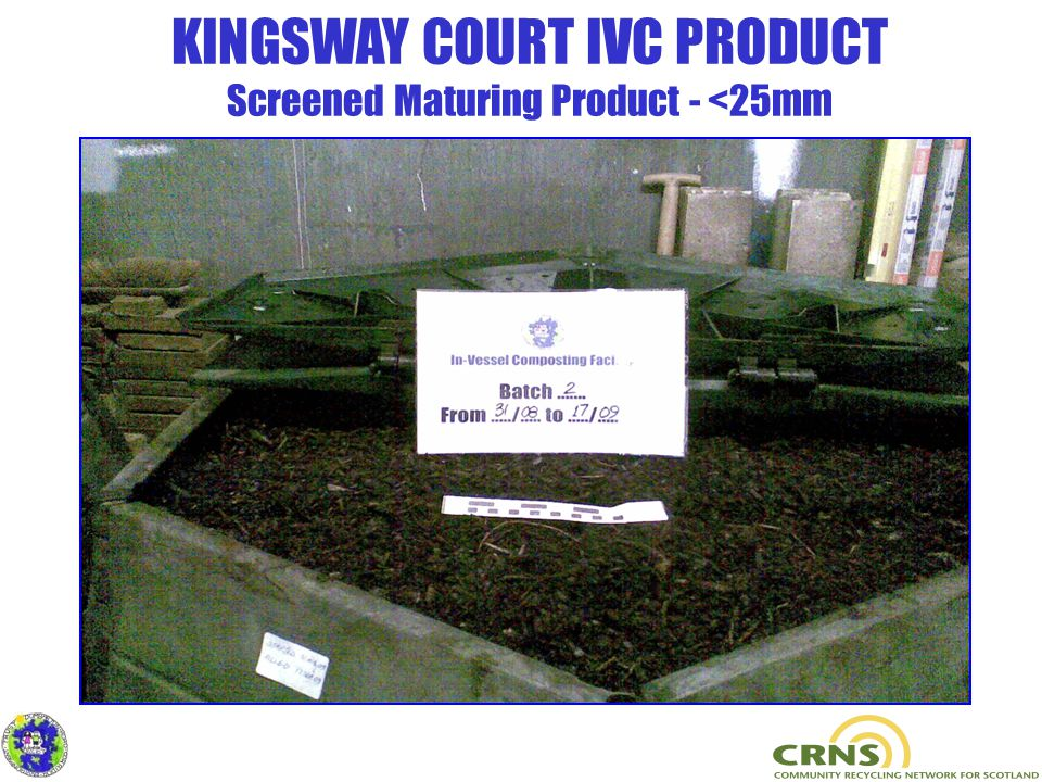 KINGSWAY COURT IVC PRODUCT Screened Maturing Product - <25mm