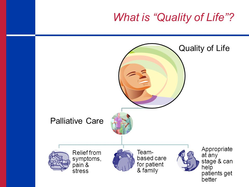 Palliative Care Palliative Care is initiated at the time of diagnosis, regardless of prognosis, and it is provided alongside disease-directed treatment at any age and any stage of any serious illness.