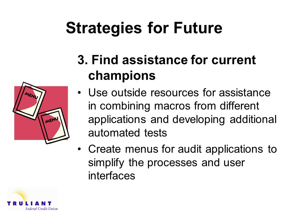 Strategies for Future 3.
