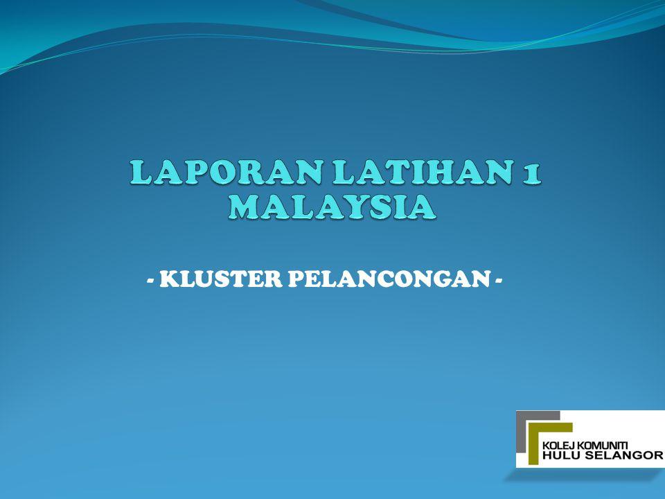 - KLUSTER PELANCONGAN -