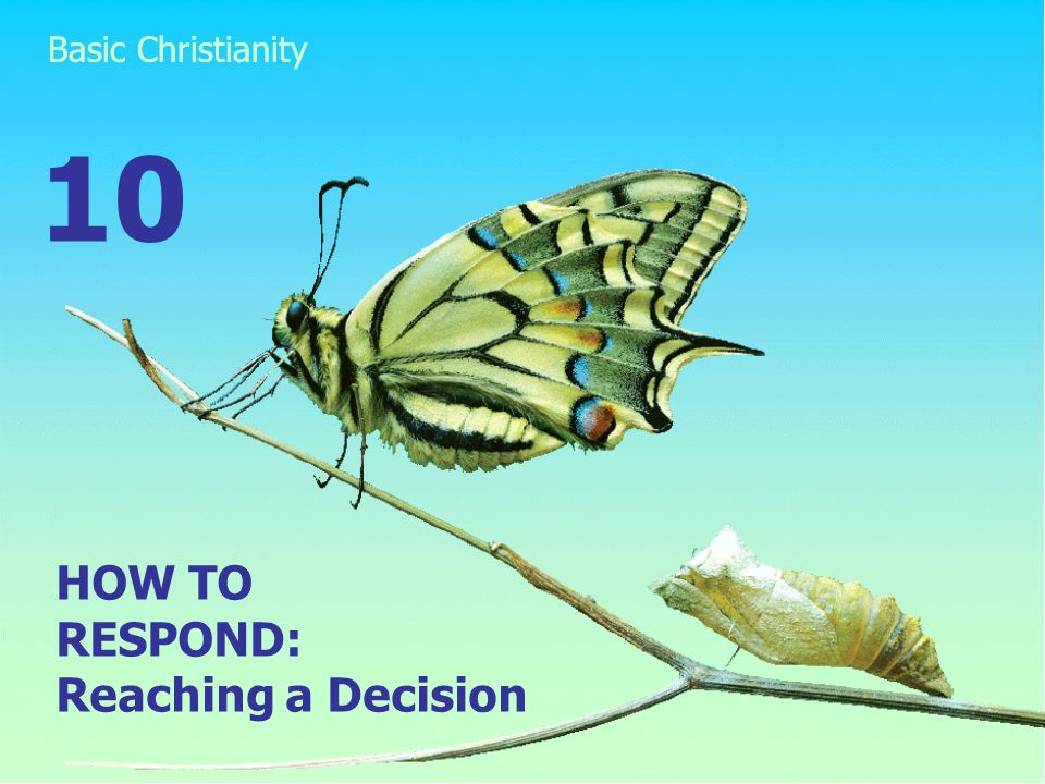 HOW TO RESPOND: Reaching a Decision 10