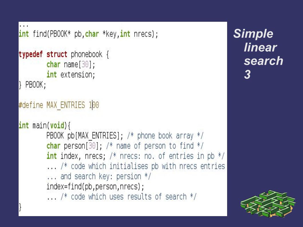 Simple linear search 3