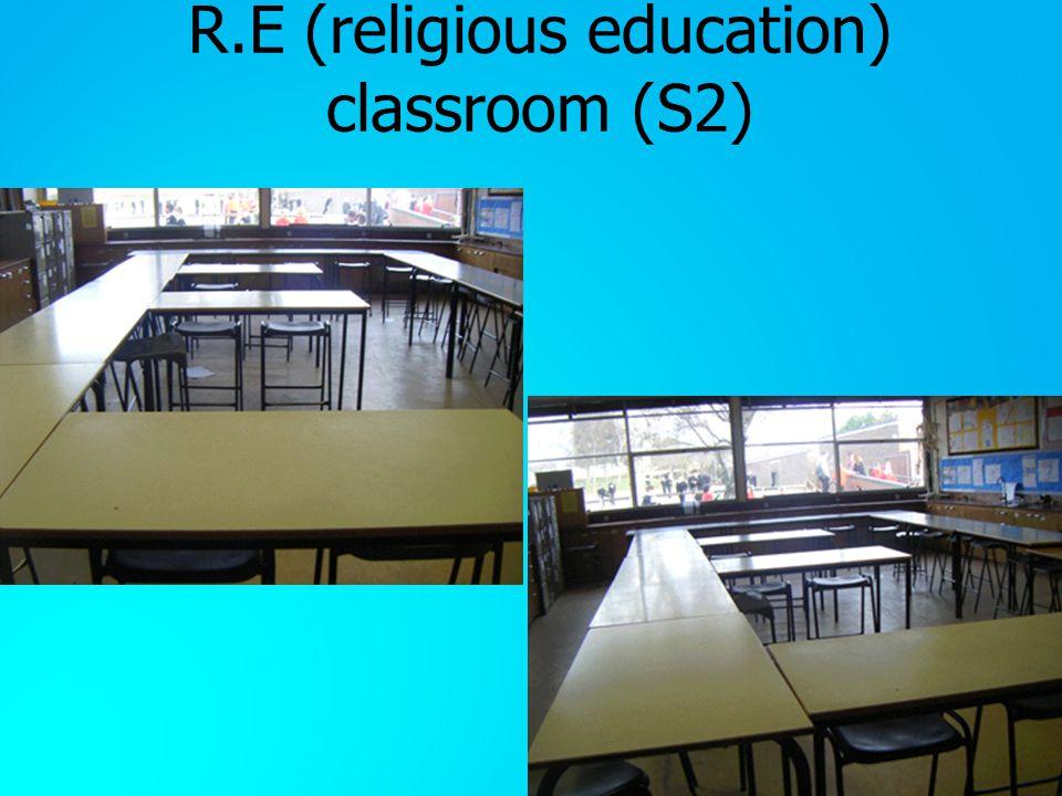 R.E (religious education) classroom (S2)