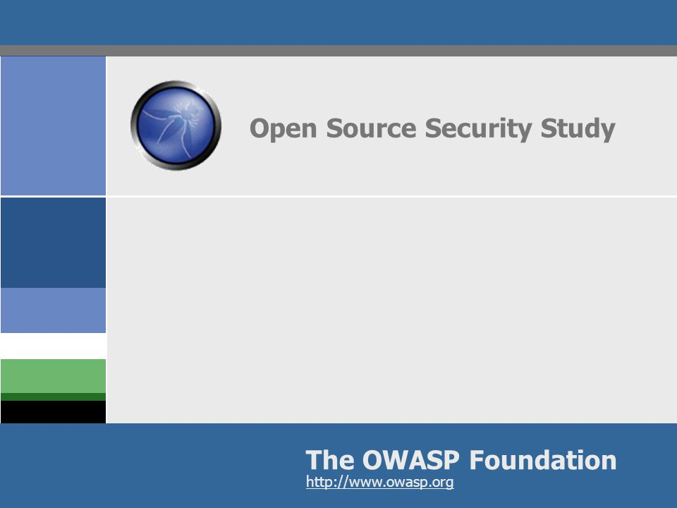 OWASP Fortify Open Source Security Study  Are Open Source Development Communities Embracing Security Best Practices.