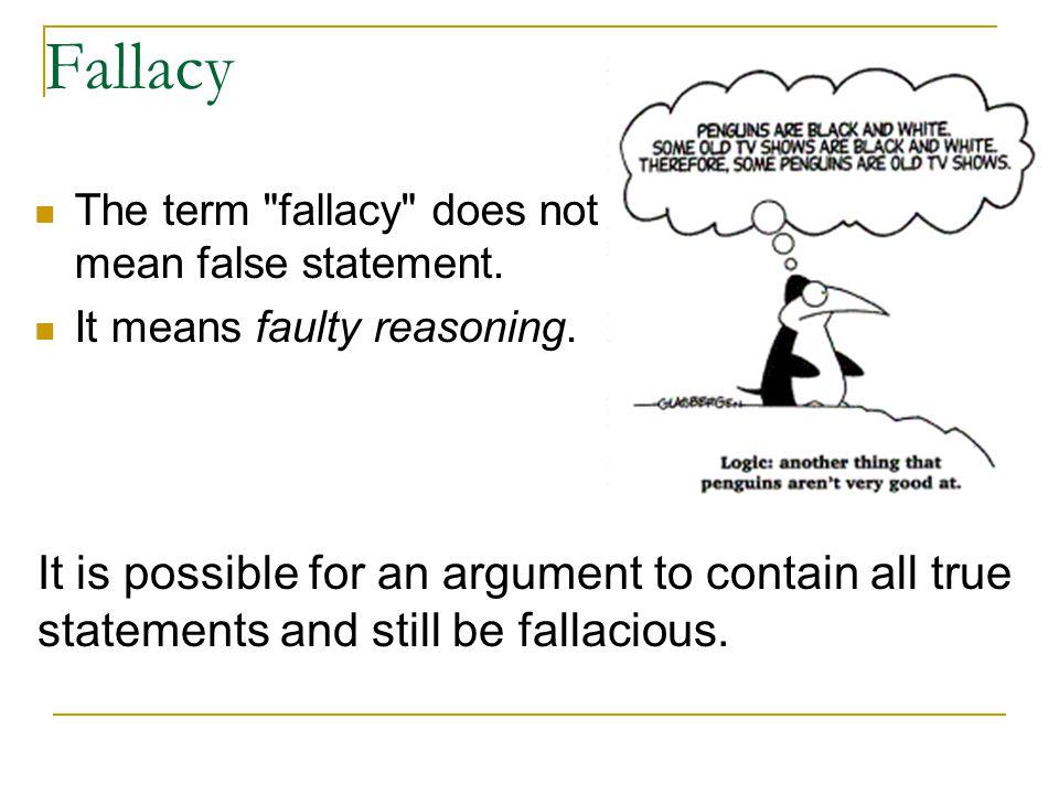 False Cause (Correlation vs.