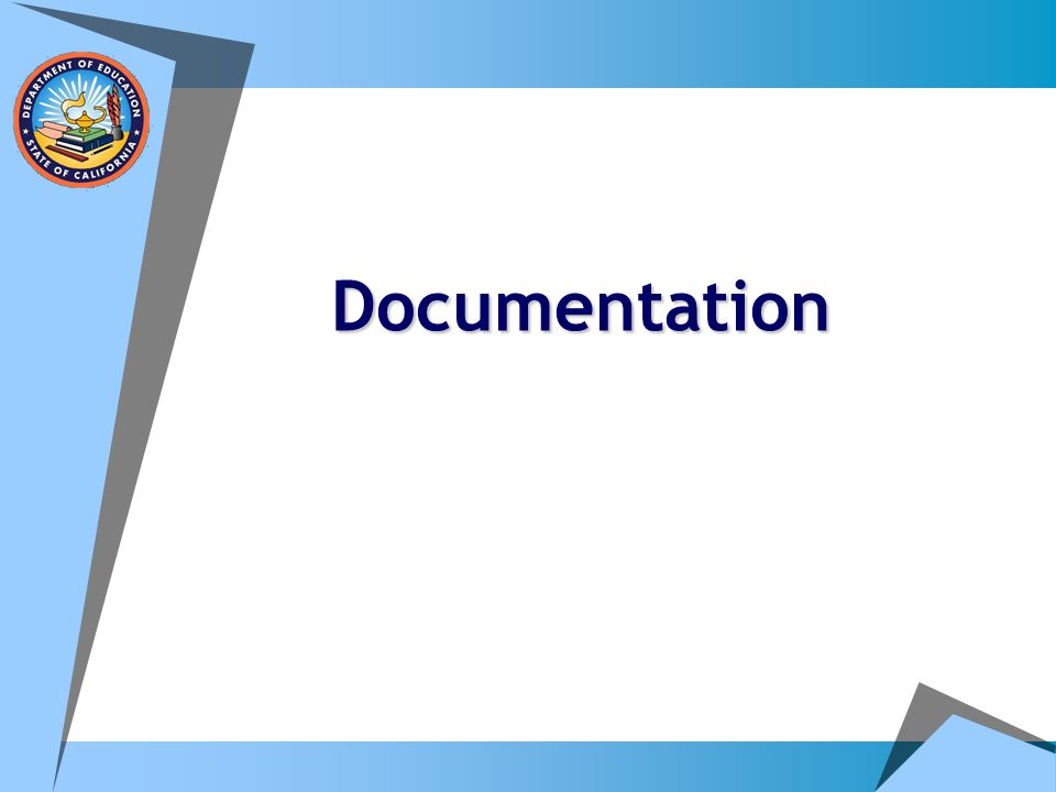 A Funny Thing About Documentation…