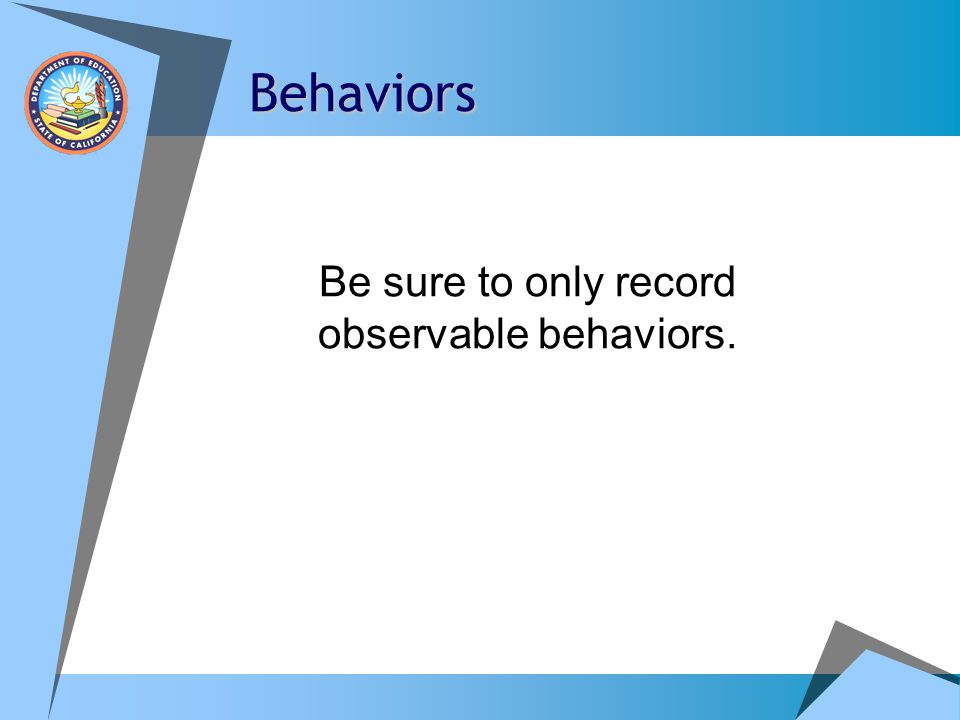 Behavior Forms Positive Environments, Network of Trainers (PENT)