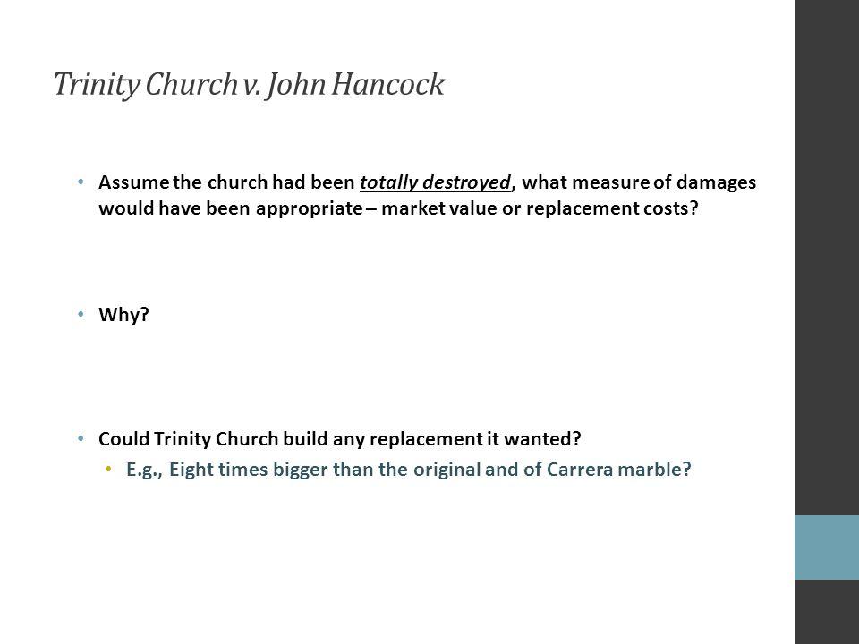 Trinity Church v.