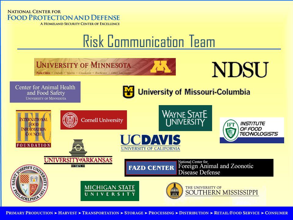 Risk Communication Team