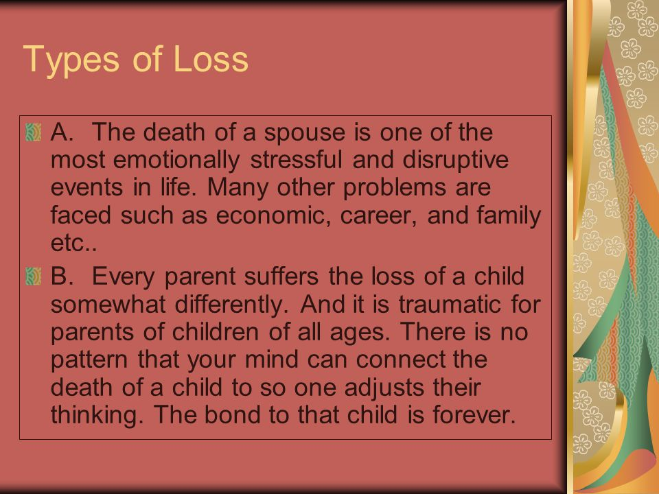 C.The loss of a loved one by suicide is doubly stressful.