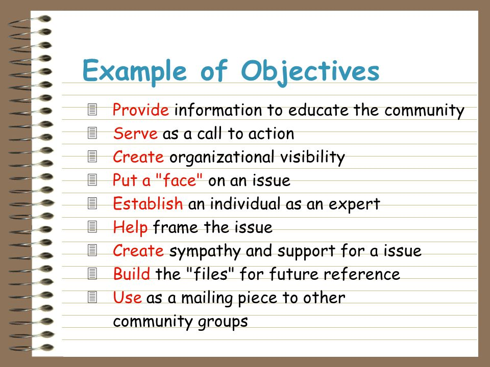  Know your objective  Have data to back it up  Craft a message Framing for Content Requires you to: