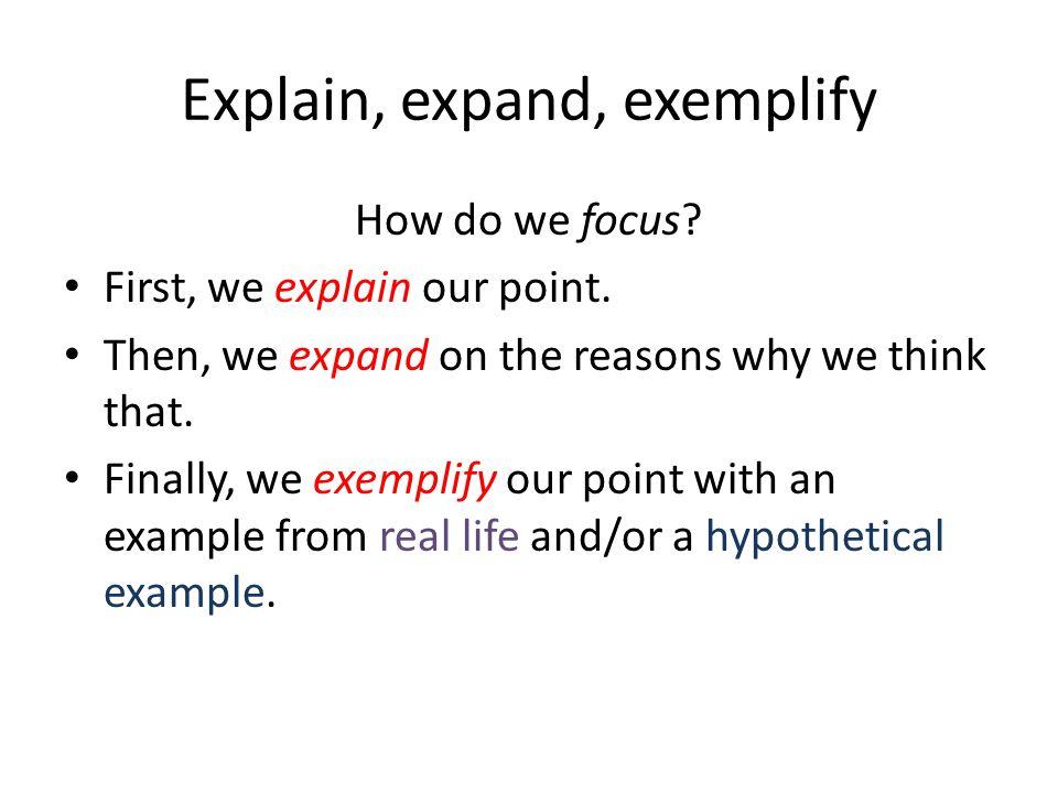 Think about David Mitchell s argument.