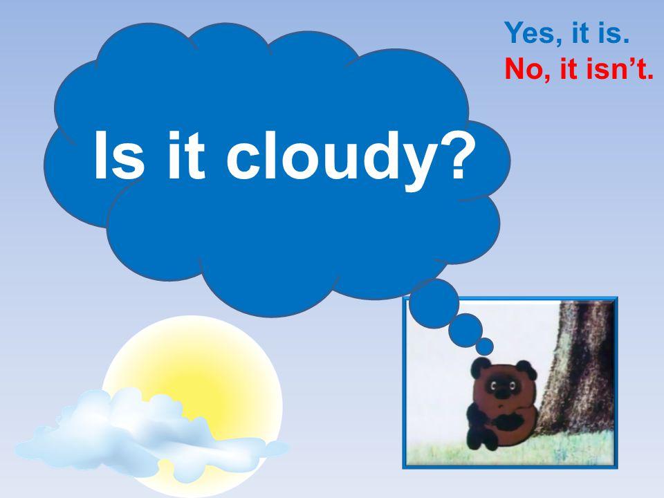 Is it warm? Yes, it is. No, it isn't.