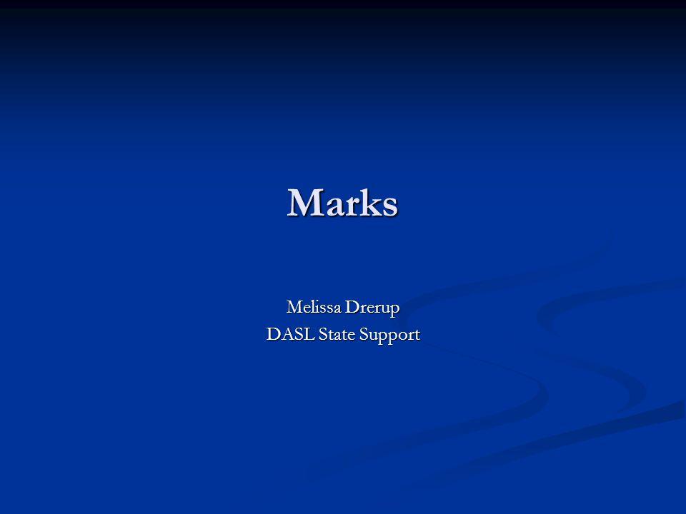 Marks Melissa Drerup DASL State Support